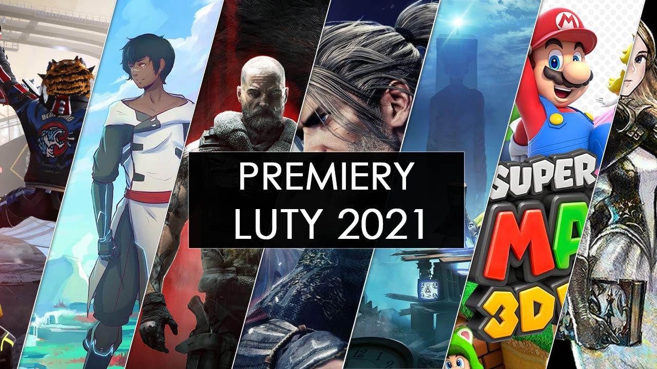 Premiery gier luty 2021