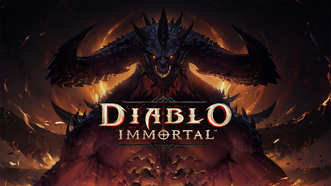 Diablo Immortal - Main Menu