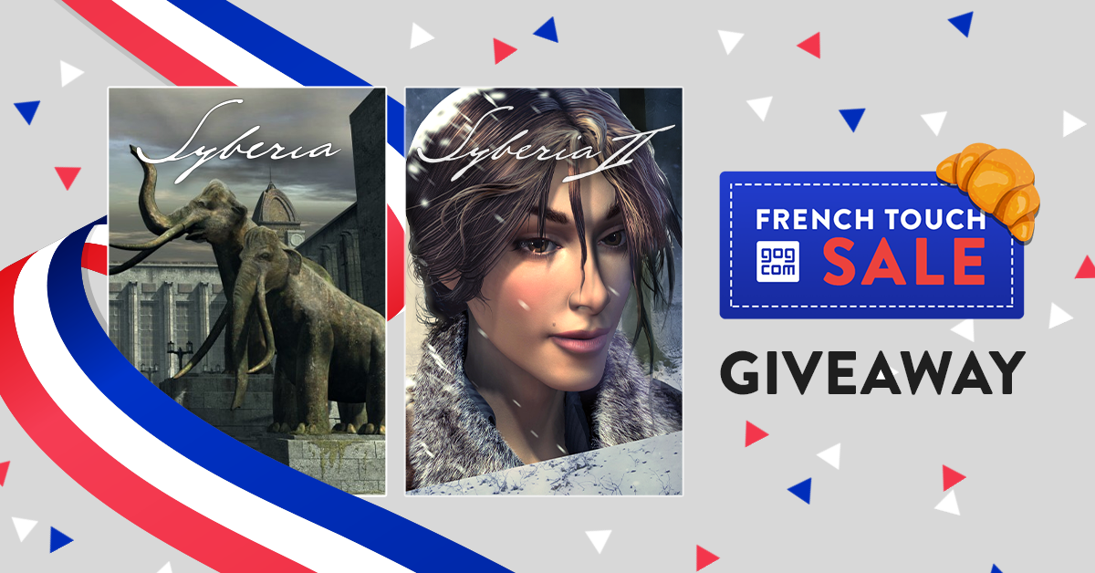 Syberia - giveaway