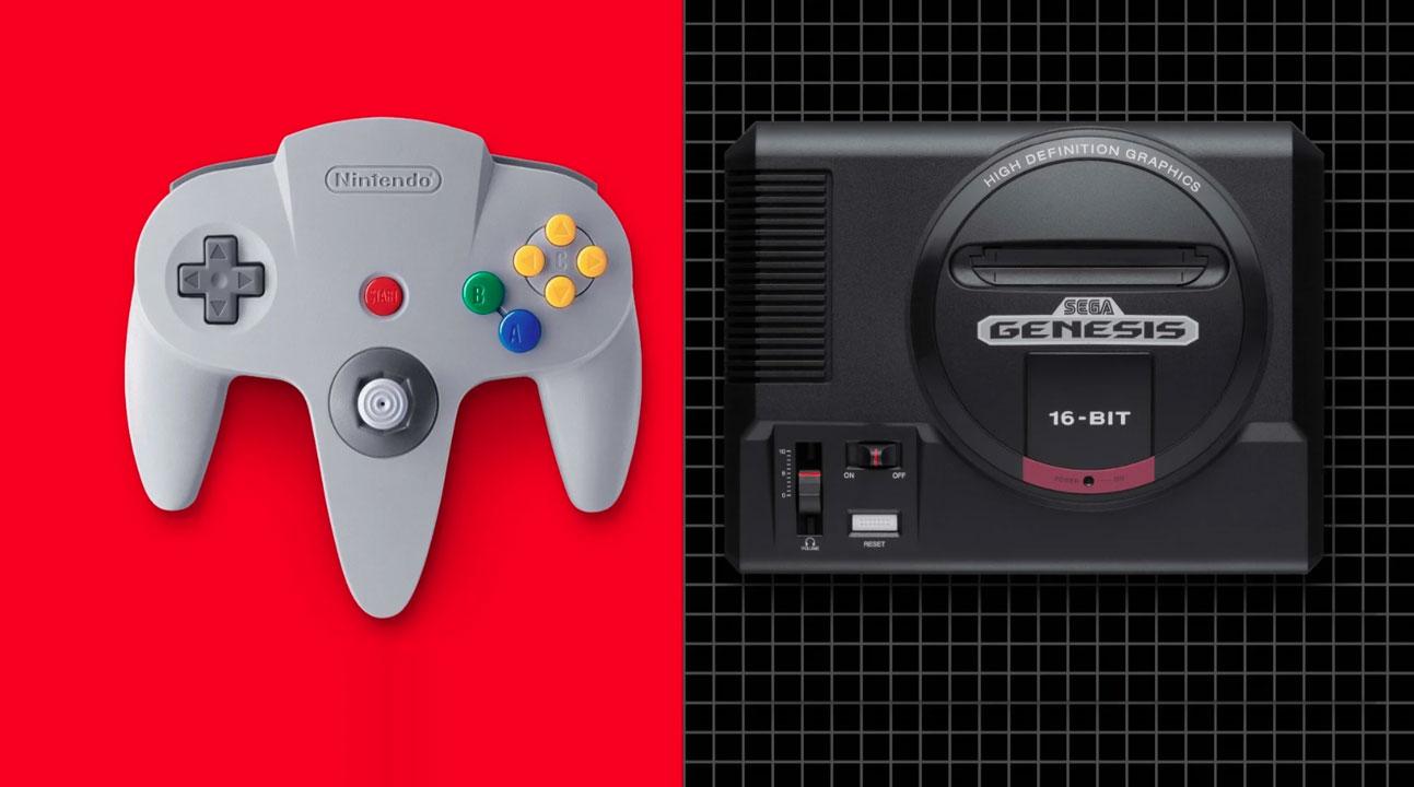 N64 Sega Genesis Nintendo Switch Online